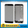 Fast delivery russia customized for iphone 5 housing,complete replacement for iphone 5 back cover