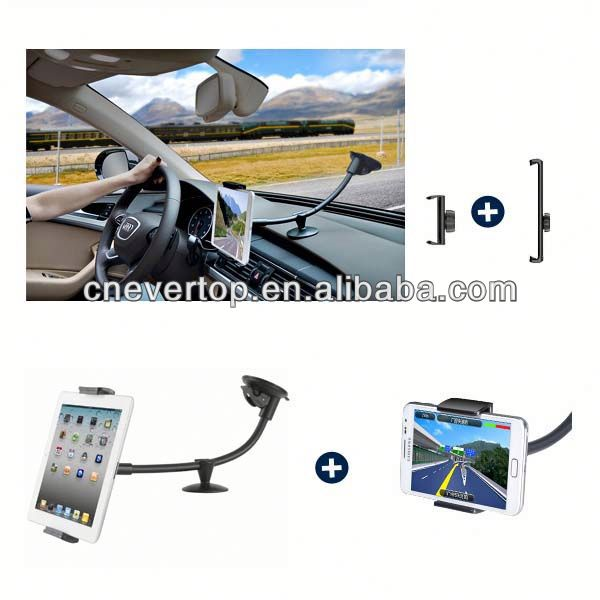 Universal Tablet PC Car Windshield Mount Holder for iPad2,3,4 Air1,2,Galaxy Tab etc Tablet PC and Phones