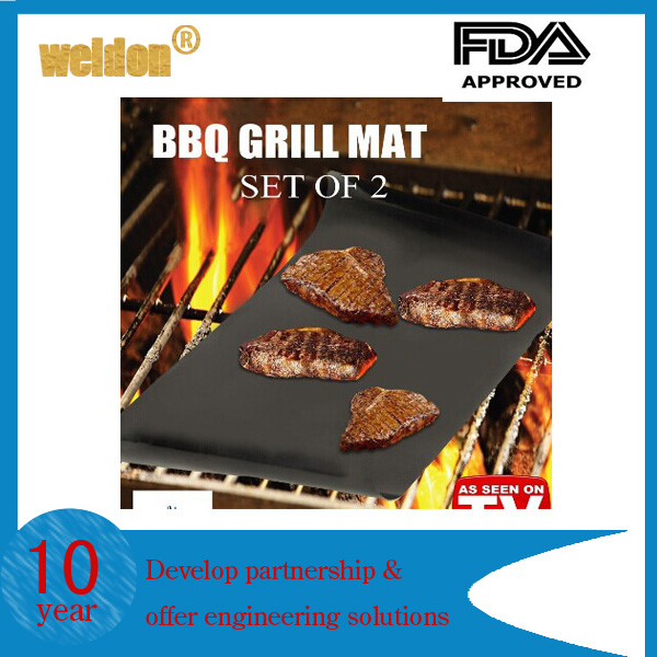 BBQ grill mats Suitable for Using in Gas Charcoal, Electric Grills and Ovens