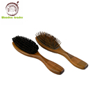 Comfortable Airbag Magic Functional Sandalwood Hair Comb For Salon