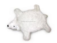 plush polar bear blanket carpet rug mat/plush animal shaped blanket rug carpet mat/plush polar bear hanging carpet