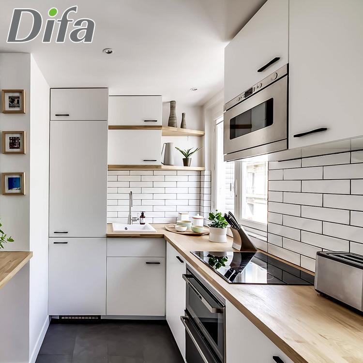 Kustom Kualitas Tinggi Lemari Penyimpanan Dapur Kompor Kabinet Dinding