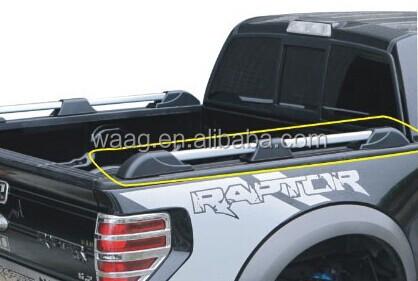 side bar pickup bed rails for raptor f150