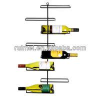 Decorative Wall Mounted Metal Wine Rack
