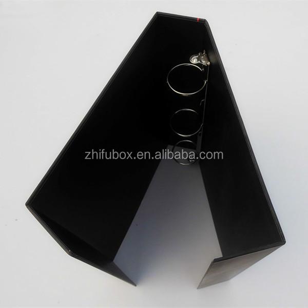 Three-ring Binder,Paper Folder With Magnetic Flip