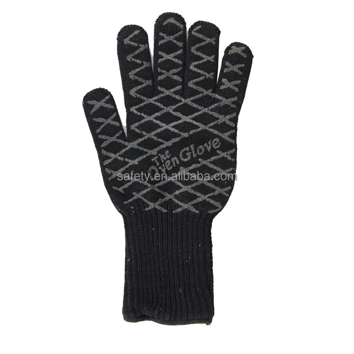 Aramid Fiber / Nomex Heat Resistant Gloves Hr004