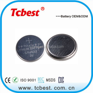with ROHS CE for 3v lithium battery cr2023 / cr2032