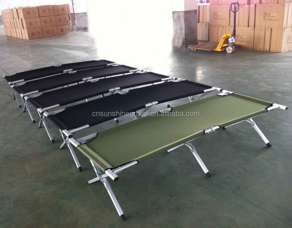 Hot Sales Folding Camping Single Cot Bed From China Supplier