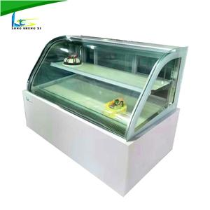 High quality air cooling pizza chiller used refrigerated cake cabinet