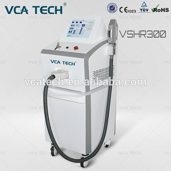 Hot! Promotion cut off 50%! Professional permanent hair removal equipment laser SHR hair
