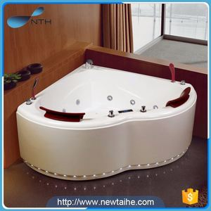 china wholesale popular holiday house 1 adult therapeutic cheap corner bath