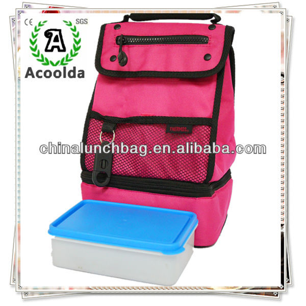 [High Quality] Guangzhou China clear canvas insulated lunch bag