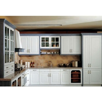 Foshan Lacquer Spray Painted Kitchen Cabinet-white High ...