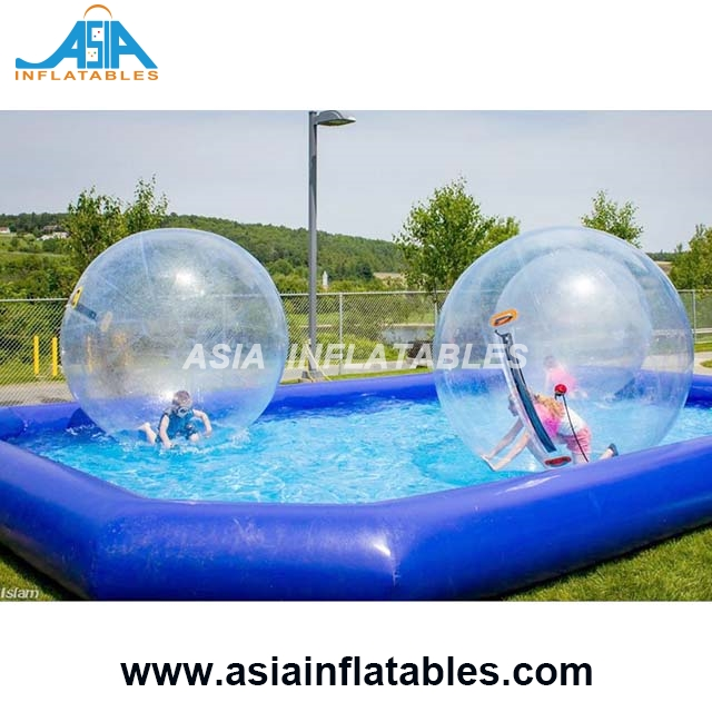 Inflatable Spa Pool / Water Inflatable Pool Toys / Large Inflatable Hamster Ball Pool