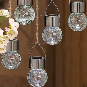 new product 59915 6b337 Crackle Glass Globe Solar Lights With Hanger Pathway Solar Gazebo Light -  Buy Hanging Lamp,Hanging Bulb Light,Hanging Globe Lights Product on ...