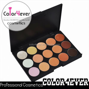 Professional wholesale supplier china 15colors waterproof makeup concealer your own brand makeup