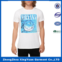 wholesale t-shirt printing custom allover print t-shirt with printing