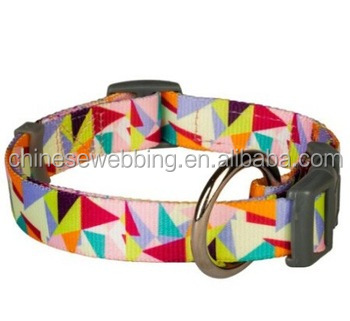 fashionable reflective weaving dog collar and lead