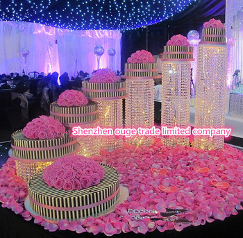 2014 new product beauttiful bling cake stand for wedding 2014 new product beauttiful bling cake stand for wedding decoration junglespirit Images