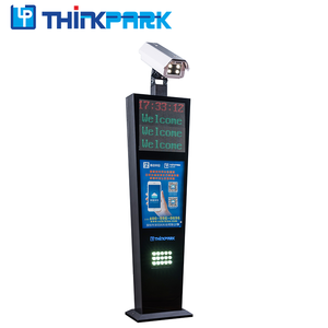 2M ANPR camera parking system for car parking lot