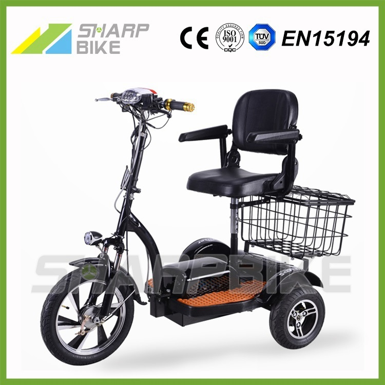 motorized 500w three wheeler electric bicycle electric. Black Bedroom Furniture Sets. Home Design Ideas