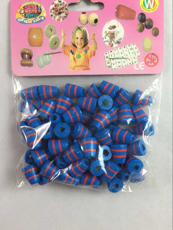 Wanfeng certificate wooden beads for hot catholic rosary plastic