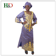 Free Shipping H & D Cheap African Print Designs Party Girls Fashion Kitenge Dress For Wholesale