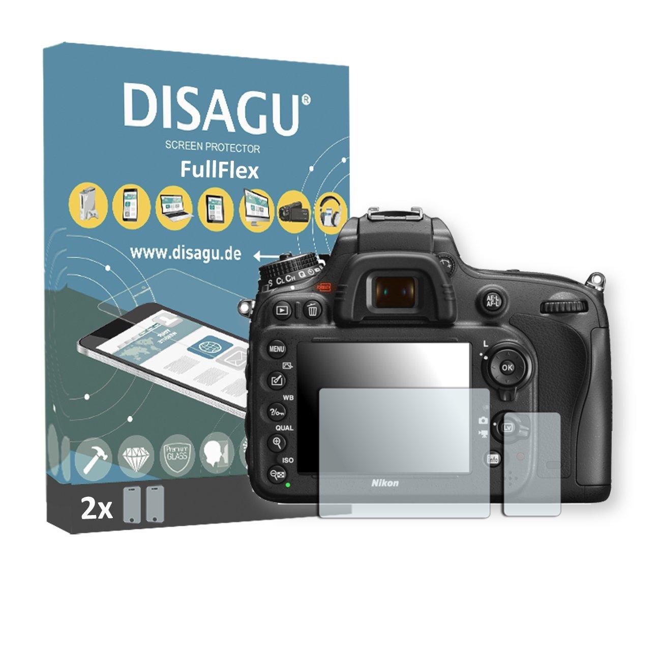 2 x Disagu FullFlex screen protector for Nikon D600 foil screen protector