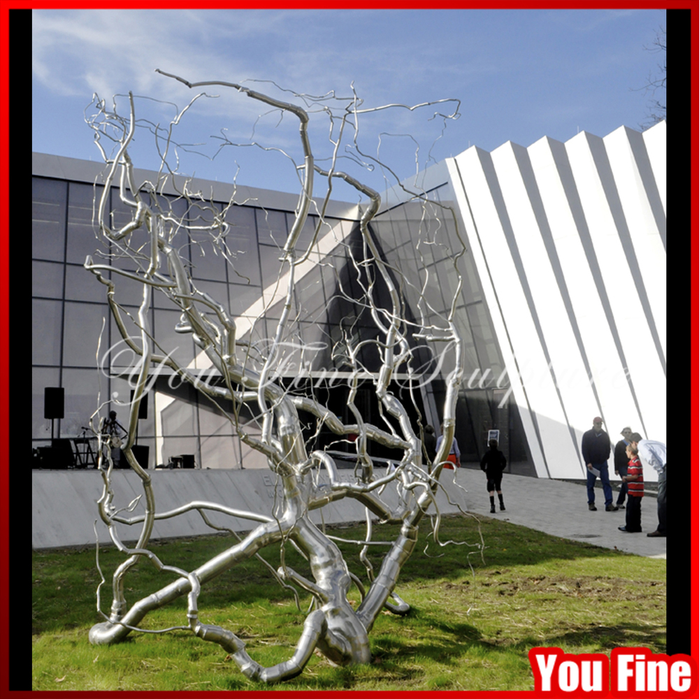 2015 garden decor metal stainless steel tree sculpture - buy steel