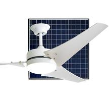 air conditioning ceiling fan 40W solar ceiling fan with LED light solar air cooling ceiling fan with DC motor
