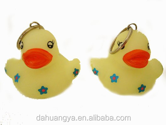 Cool Water Toys ,Rubber Duck Keychain /Keyring