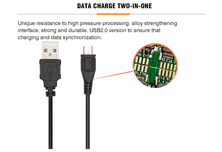 China manufacturer data cable usb charger cable suitable for elderly mobile phone speaker and other devices