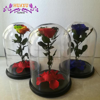 Eternal Roses Preserved Flowers In Glass