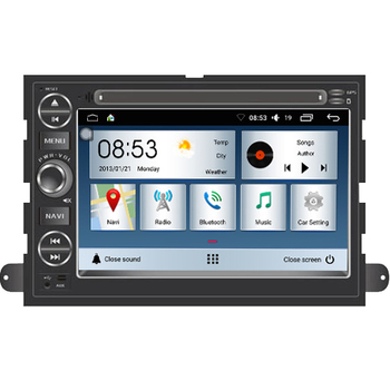 Hohe Qualität Gute Preis Android 7.1 system für ford mustang Auto DVD player Navigation Radio 4G wifi 2 GRAM 32 flash