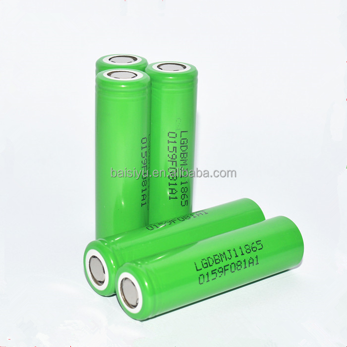 Original LG INR18650MJ1 3.7V 3500mAh high capacity power lithium battery 10A LG MJ1