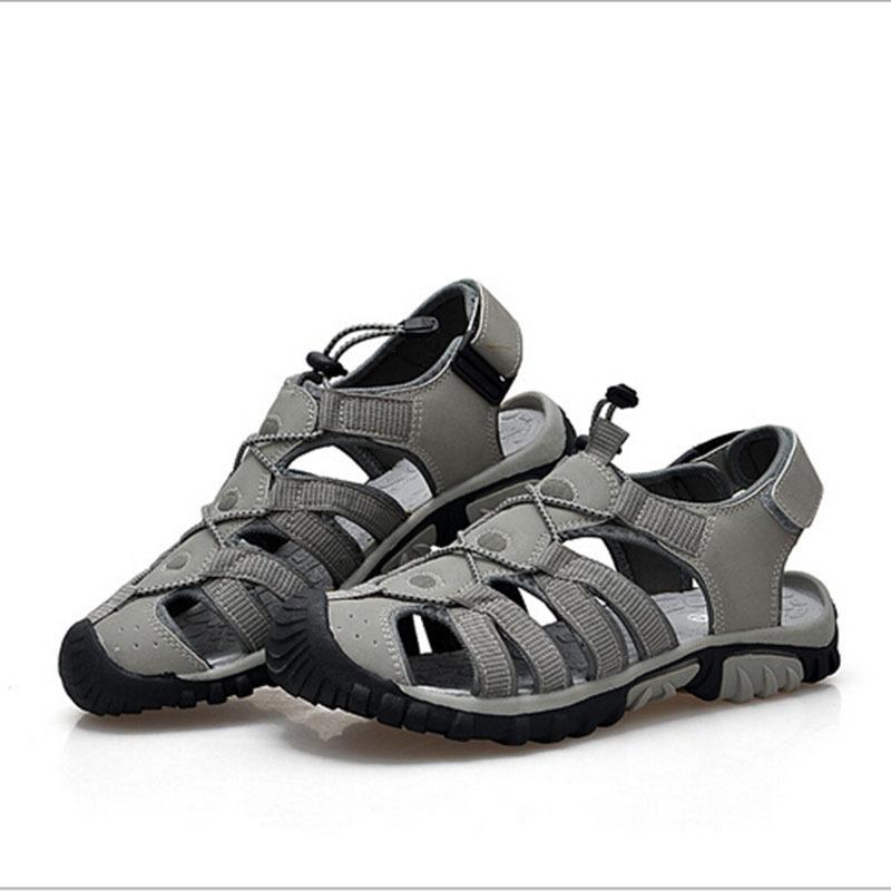 b5d5ce1f6f6b Get Quotations · 2015 Sandals Summer Outdoor Casual Sandals Men Breathable  Trekking Camping Walking Shoes Wading Outdoor Sandals Men