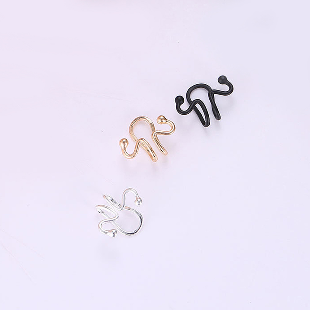 bfb24a742 Please allow slight dimension difference due to different manual  measurement. Package Includes: 1 x Ear Cuff (1Pc Not 1 Pair)