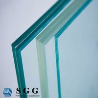 High quality laminated windshield glass