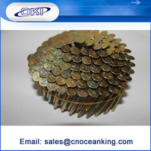 High quality galvanized roofing nails coil