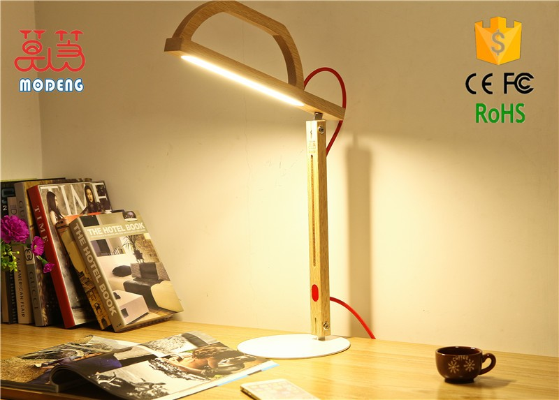 Warm White Color Temperature(cct) And Oak Wood Material Touch ...