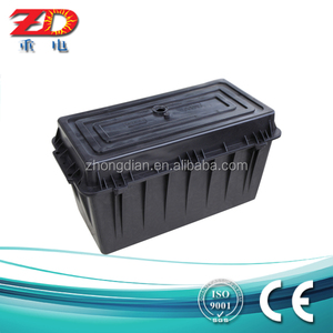 ZD-120 plastic water repellent solar battery case