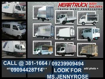 Aluminum Van Body Truck Body Assemble - Buy Truck Body Product on  Alibaba com