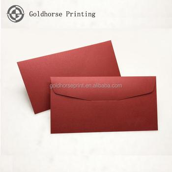 fancy paper wallet envelope red wedding invitation envelope handmade