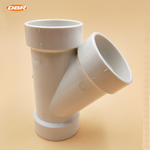 Jiangyin Best Products For Import PVC Y T Pipe Fitting Related To Plumbing