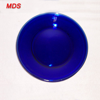 Firm and stable cheap antique cobalt blue glass dinner plates
