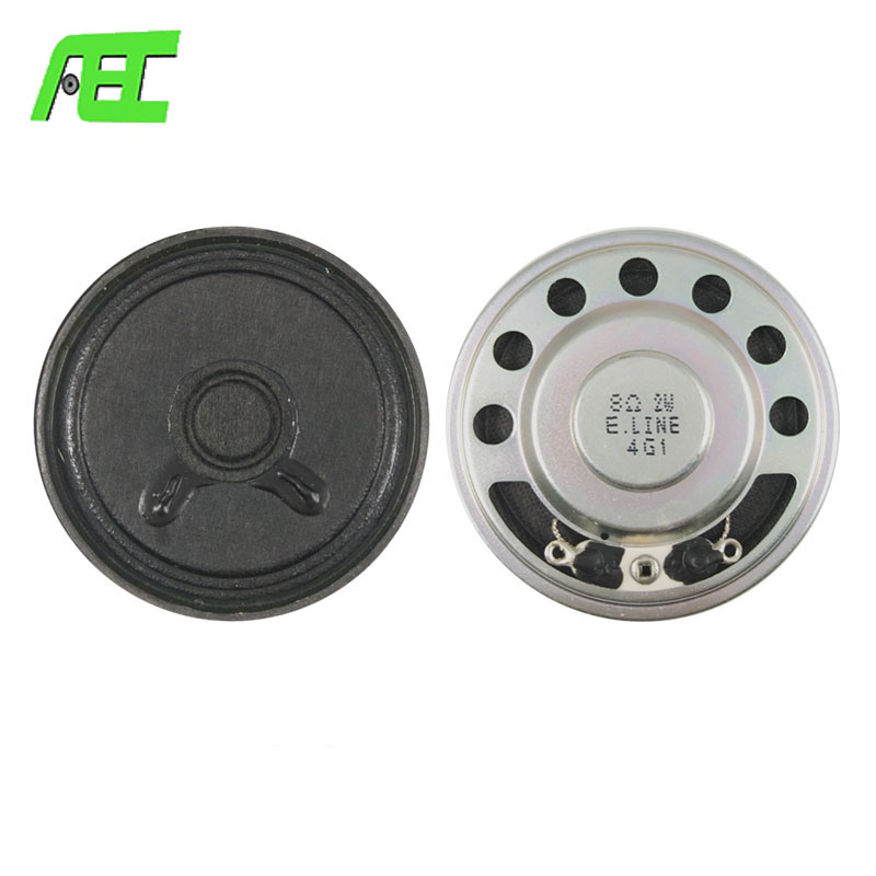 AEC Speaker 50mm 8ohm 2w electronic parts paper cone micro speaker