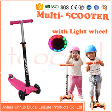 TK02-2 New model Children three wheels cheap Outdoor toys for kids kick pedal scooter