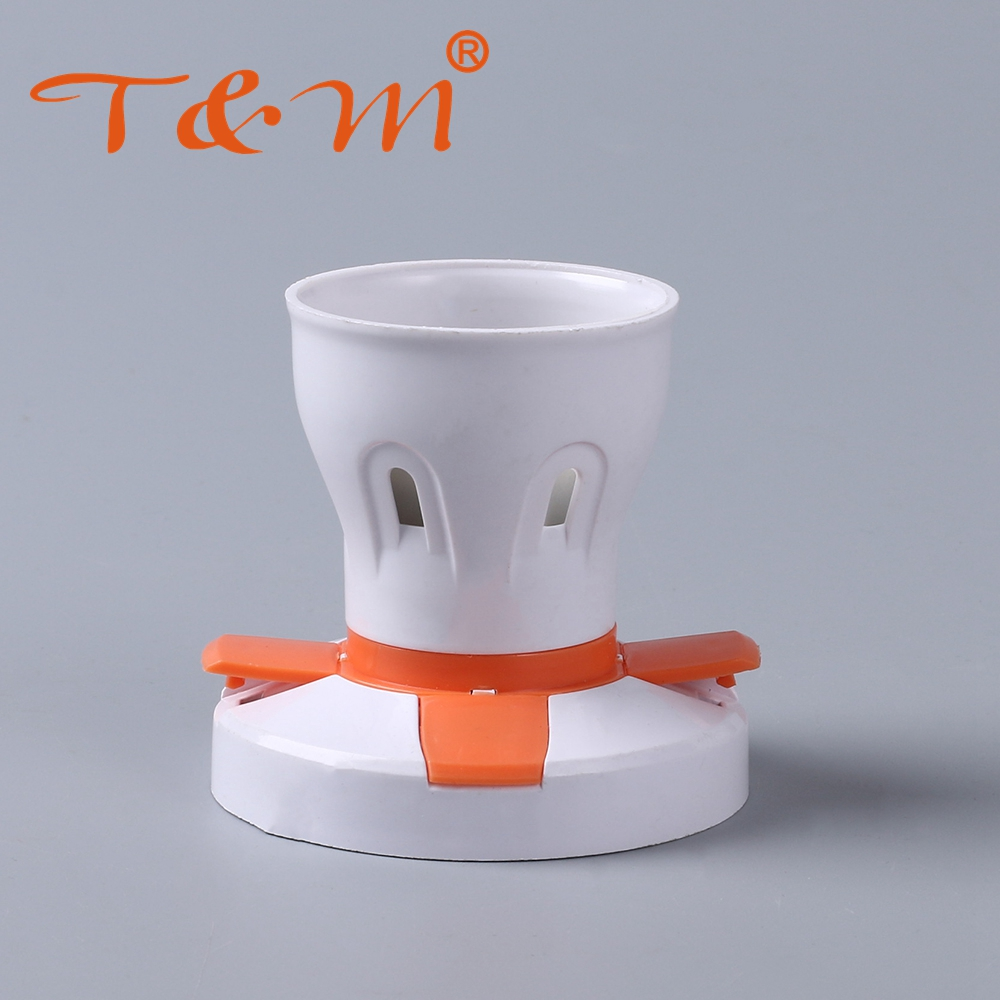 2018 New fancy plastic decorative bulb e27 lamp holder