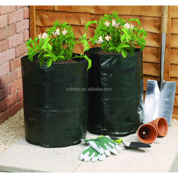 Pe Potato Grow Bag With Handles And Drainage Holes Growing Bags Planter Planting Product