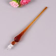 Креативная стеклянная ручка, ручка для воды, художественный шрифт, кристальная авторучка, изысканная Подарочная коробка, товары для рукоде...(Китай)